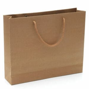 wide gusset paper bags