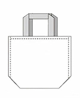 bag with bottom no side