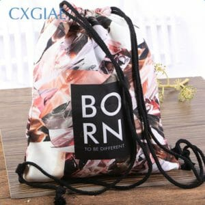 Cotton Drawstring Bags Wholesale Custom With Logo