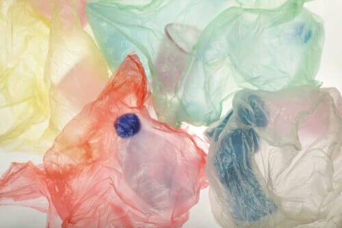 Will PVC plastic bags pollute the environment