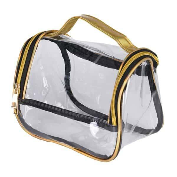 clear plastic blanket storage bags