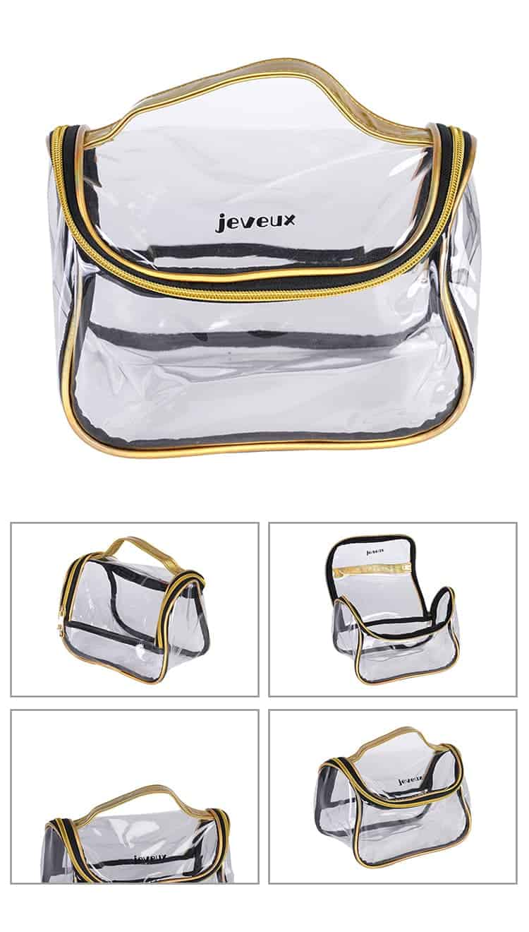 clear plastic storage bags with zipper