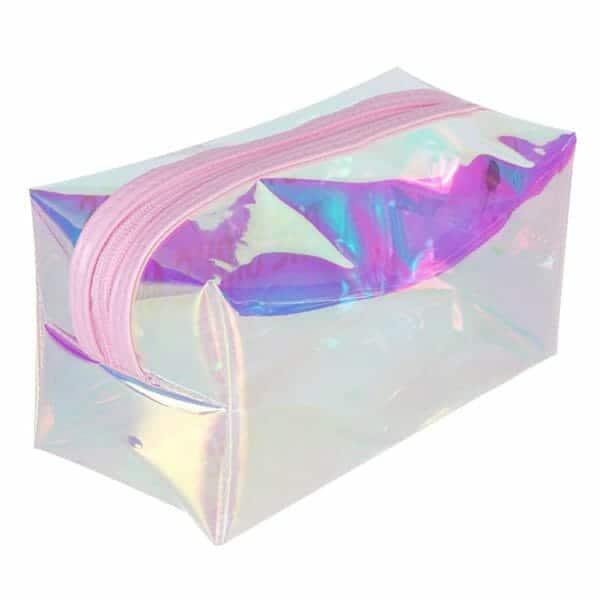 透明なポリ塩化ビニールの化粧品の袋の卸売