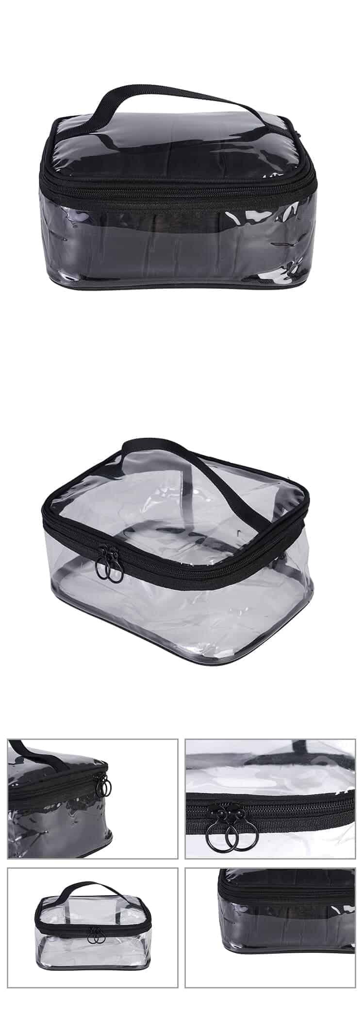 plastic cosmetic bags